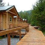 Only 16 cabins in the entire National Park area...not the Ritz but super clean and comfy after a
