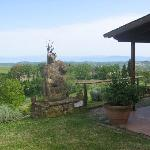 Poggio Pistolese - View from guest rooms area
