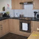 Kitchen area of Nottage Cottage (private rent)