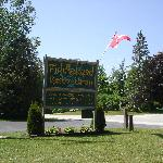  Entrance to Fiddlehead Resort Camp