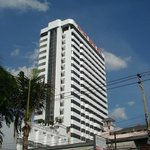 Pattaya Centre Hotel from Beach Road