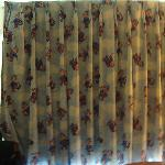 old kid curtains..just a start to bad room