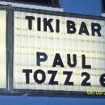 Swim up to the Tiki Bar!
