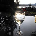 Wine, sunset and relaxation...