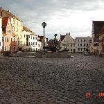 The lovely square of Colditz town