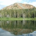 One of the mountains overlooking Twin Lakes