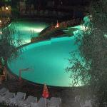  Vita Park - The swimming pool at night