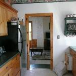 Kitchen/Living room area - Cottage at Millbank