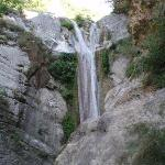The Lefkas tourist attraction - The Waterfall