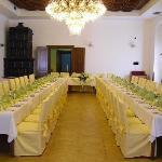  Wedding table in the Banqueting Hall