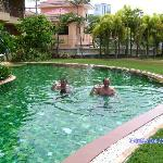 Rosey and Willy saying Hi! to all