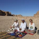 beduin lunch near Gebel Matamir