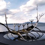 Solfar (Sun Voyager) Sculpture