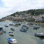 pretty Mousehole village nearby