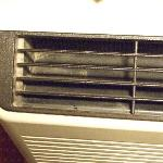  AC blowing dust &amp; bugs??