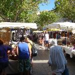  Thurs market day in Nyons