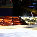 Fannie Farkle's Sausage, Onions & Peppers on the Grill in Gatlinburg