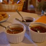 French style breakfast, confiture made by Françoise.