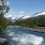 Portage Glacier River Run Off