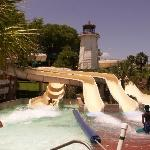 Some water-slides