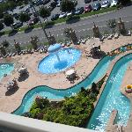  Pool area from our room...