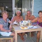 Barbi evening with friends