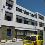 Milos Hotel. Lovely,isn't it?