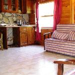 Wooden House room