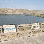 Haggerman Fossil Beds National Monument Snake River viewing platform.