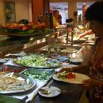Buffet meal - entrees