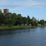 View along the shore of River Ness in Inverness, right at the Westbourne doorstep.