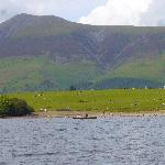 "The Lovely Lake ""Derwent water"""