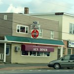 Al's is easy to spot in downtown Mars Hill, Maine