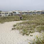 Surf and Sand Motel, South Yarmouth from the beach