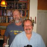 Our Innkeepers Corbet and Bill