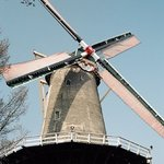 This windmill is the only working/producing fabric sail windmill left in Europe.