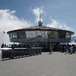  Revolving restaurant at the Schilthorn