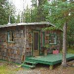 Cabin in which we stayed