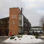 Entrance to Soria Moria Hotel