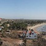Panorama of Las Barras from lighthouse