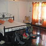 our room - very bright and spacious