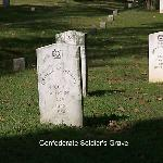 Confederate Soldier's Grave Site