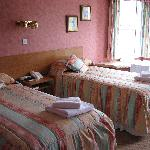  Portland Arms Hotel Room 15 twin beds