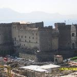 Naples: Castle Nuovo, view from hotel