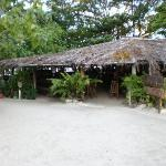Nusa Island Retreat Bar and Restaurant Area