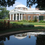 Thomas Jeffersons Monticello Foto