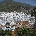  Vista de Chaouen desde la Kashba