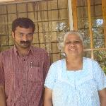 Sunil and his mom