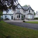 great B&B on approach to Golspie