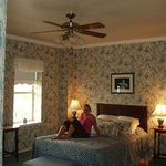  A nightmare of a room at Brown Pelican Inn in South Padre Island
